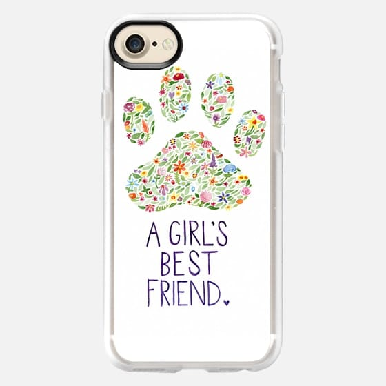 A GIRL'S BEST FRIEND - Snap Case