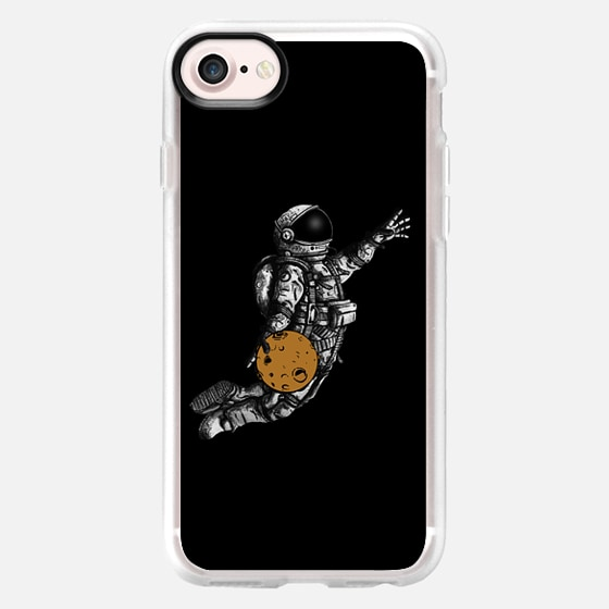 Space basketball - Classic Grip Case