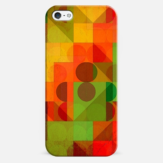 Geometry of a smile - Classic Snap Case