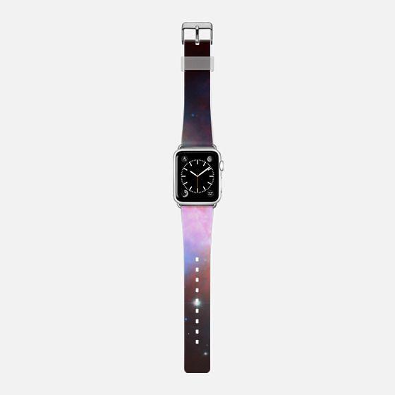 Cosmic Galaxy - Saffiano Leather Watch Band