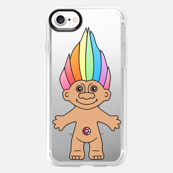 Rainbow Troll - Wallet Case