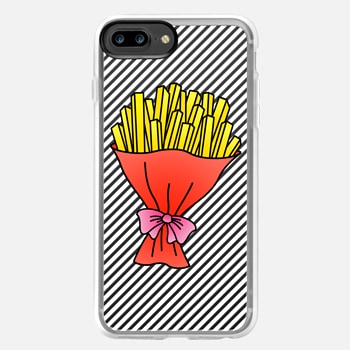 iPhone 7 Plus ケース Fries Bouquet