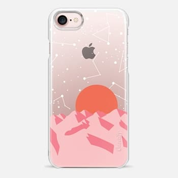 iPhone Case -  Palm Springs Sunset