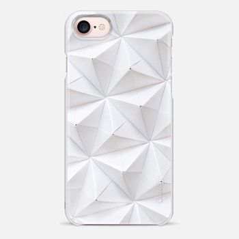 iPhone 7 Case Origami in White by Coco Sato