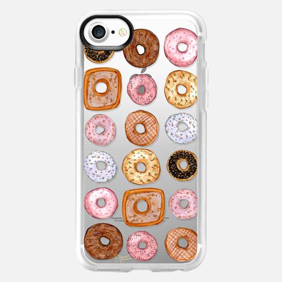 Donuts for Days Illustration by Joanna Baker - Wallet Case