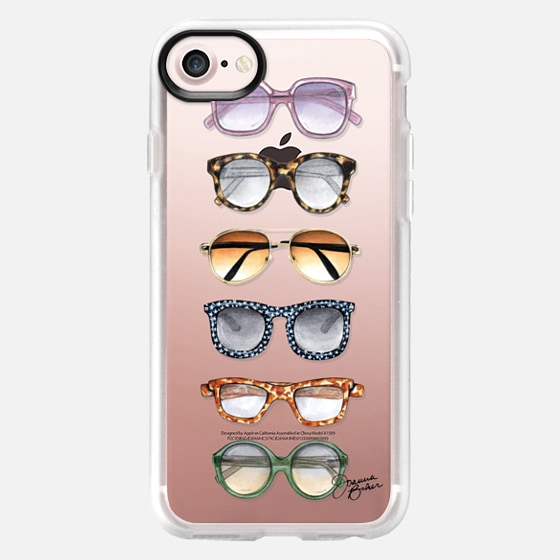 Sunglasses Fashion Illustration by Joanna Baker - Classic Grip Case