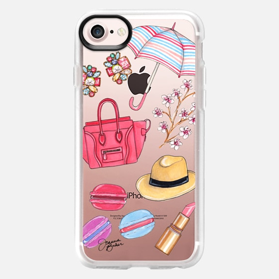 Spring Favorites Fashion Illustration by Joanna Baker - Snap Case