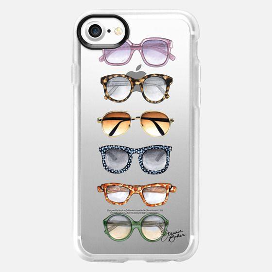 Sunglasses Fashion Illustration by Joanna Baker - Snap Case