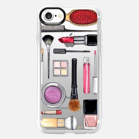 Beauty Editor Fashion Makeup Illustration by Joanna Baker - Snap Case