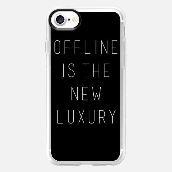 Offline is the New Luxury - Classic Grip Case