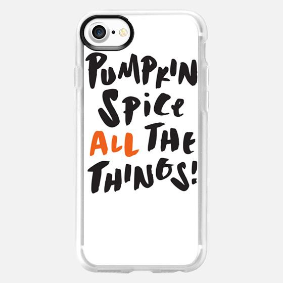 Pumpkin Spice White -