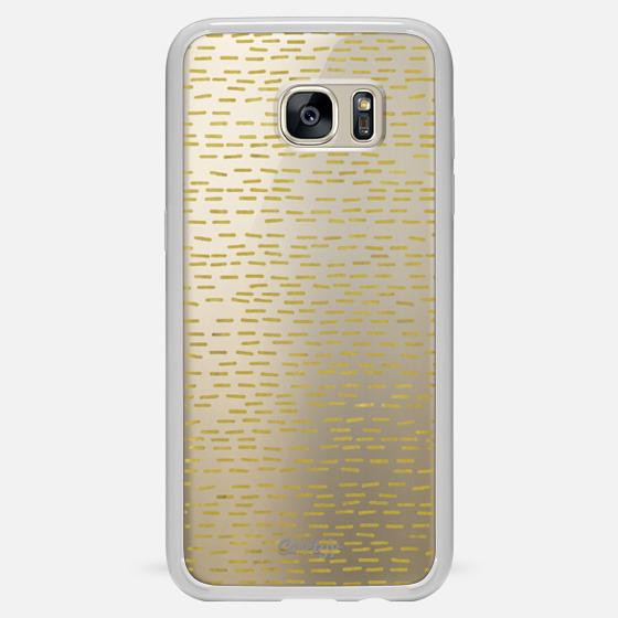 GOLD STRIPES transparent - Classic Snap Case
