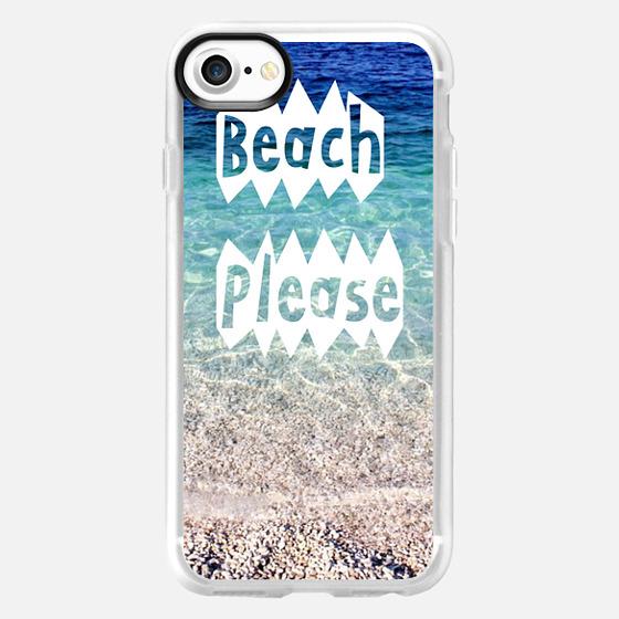 beach please - Wallet Case