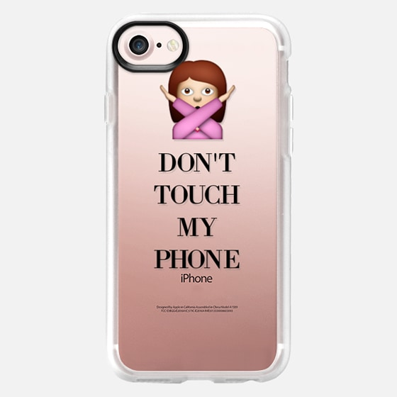 Don't Touch My Phone - Wallet Case