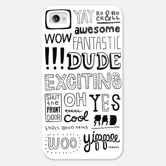 Words of Excitement - Classic Snap Case