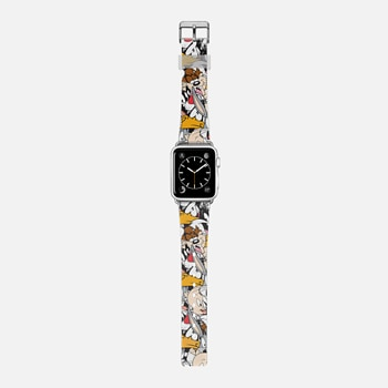 Looney Tunes Party All-Over Print Apple Watch Band