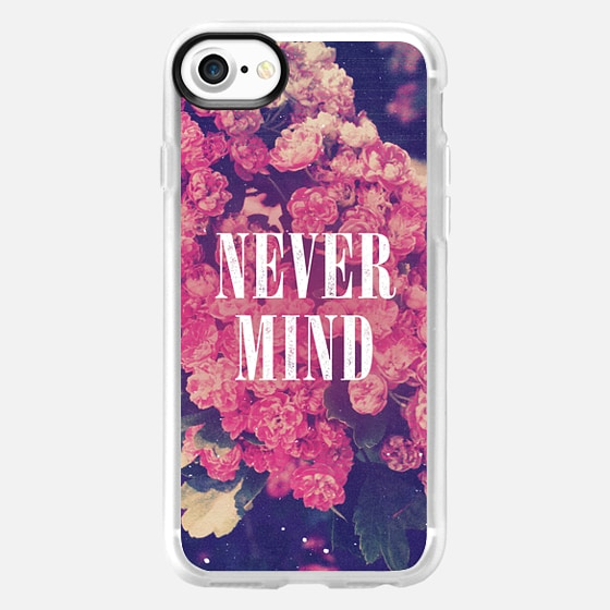 Cool Girly Chic Pink Roses Soft Grunge Pastel Floral Never Mind Nevermind 90s Retro Photo  - Wallet Case