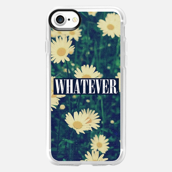 Cute Cool Girly Chic Sassy Daisy Daisies Whatever 90s Grunge Floral Photo Clueless Nirvana - Wallet Case