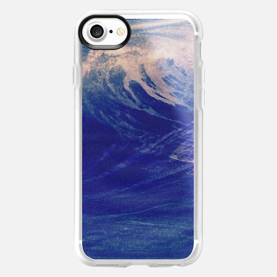 Blue Ocean Sea Wave Surf California Chill Summer Good Vibes - Wallet Case