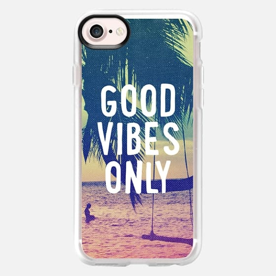 Good Vibes Only Summer Beach California Chill Tropical Cool - Classic Grip Case