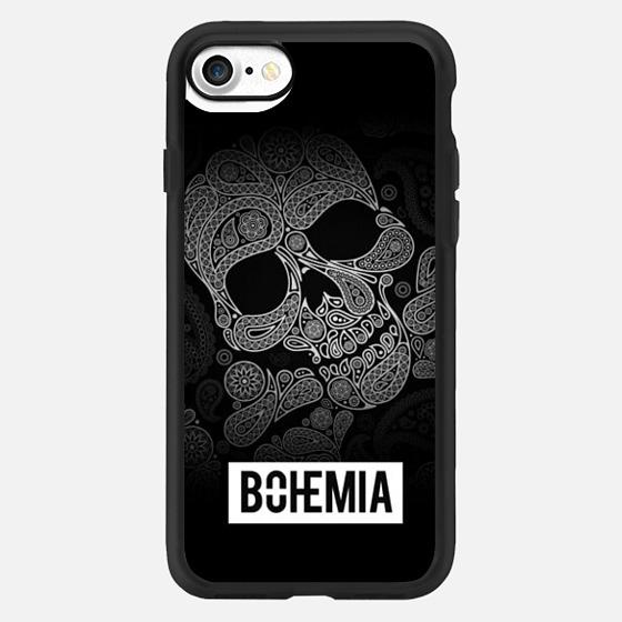 Skull and Bones (iPhone 7) - Classic Grip Case