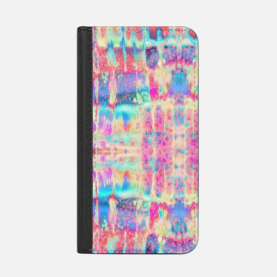 Rainbow Tie-Dye Lace - Wallet Case