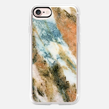 iPhone 7 Case Exotic Multicolored Marble
