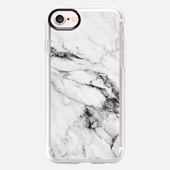 iPhone 7 เคส Black and White Marble
