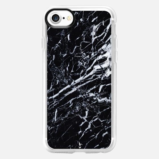 Midnight Marble - Wallet Case