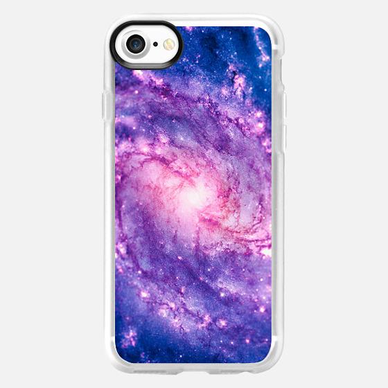 Cosmic vacuum cleaner (Spiral Galaxy M83) - Wallet Case