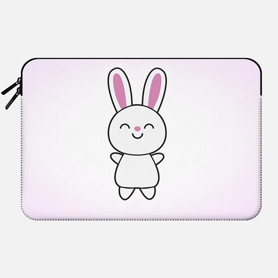 Cute Rabbit / Bunny - Macbook Sleeve