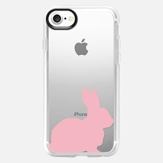 bottom bunny pink - Wallet Case