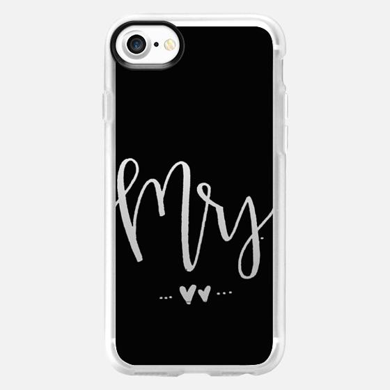 Mrs. - Black - Snap Case
