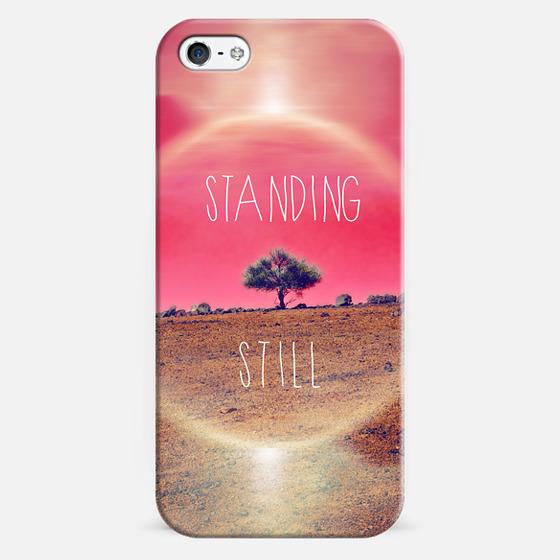 Standing still - Classic Snap Case