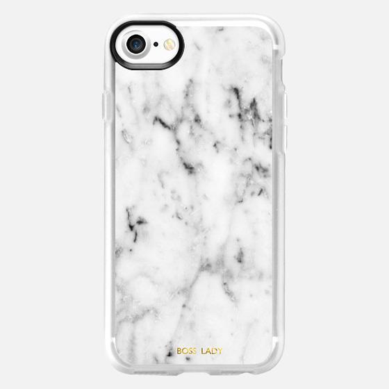 boss lady-marble case - Wallet Case