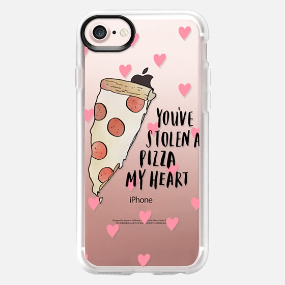you've stolen a pizza my heart - Wallet Case