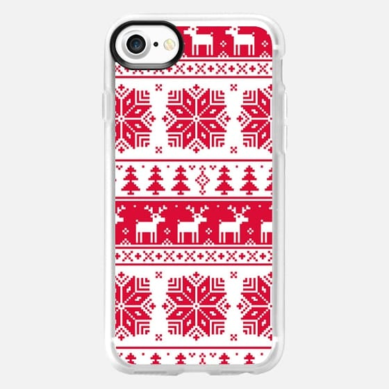 christmas sweater - Classic Grip Case