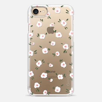 iPhone 7 Case Petite Blooms Transparent