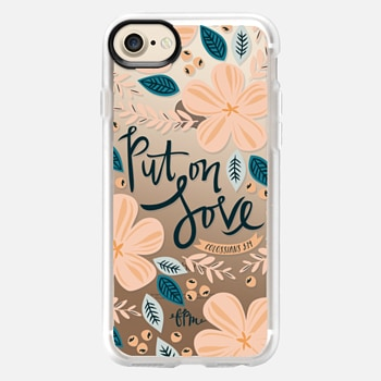 iPhone 7 Case Put on Love