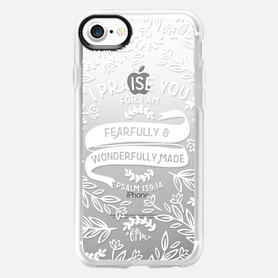Fearfully & Wonderfully Made - White - Classic Grip Case