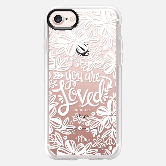 You Are Loved - White - Classic Grip Case