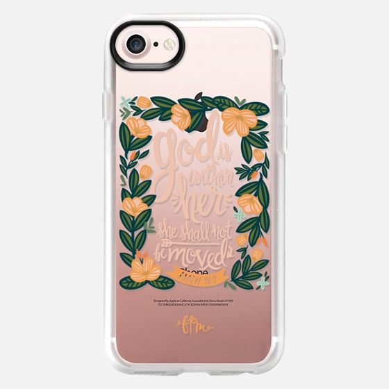 God is Within Her - Classic Grip Case
