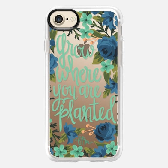 Grow Where You Are Planted - Classic Grip Case
