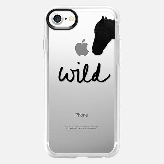 """Wild"" + Wild Horse (Cutout) - Wallet Case"