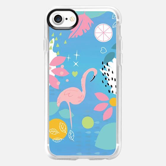 Flamingo - Classic Grip Case