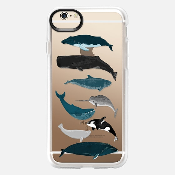 Whale iphone case, whales pattern, whales iphone7 case