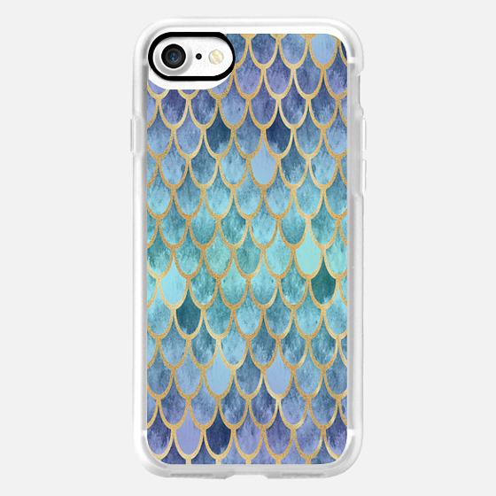 Blue Mermaid Scales -