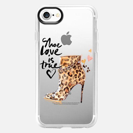 Shoe Love - Animal print - Snap Case