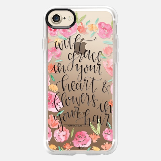 Grace in your Heart, Flowers in your Hair - Mumford & Sons - Wallet Case