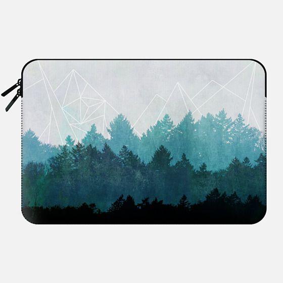 Woods Abstract - Macbook Sleeve